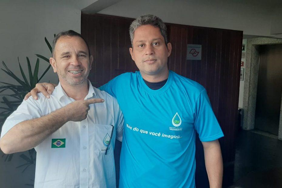 Alan Honorato (Central do vazamento) em SP talento surgindo na geofonia nacional
