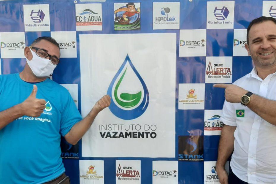 Professor Jorge Machado fera no saneamento